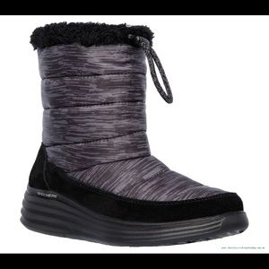 85dcc71ed90e Skechers Shoes - Skechers Halo-Glory-Space Dyed Charcoal boots